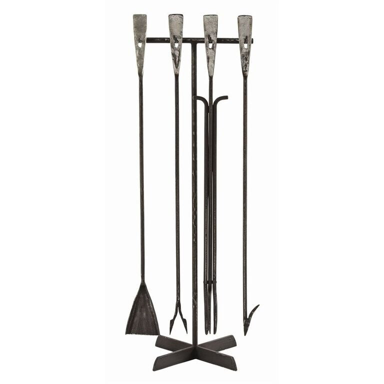 fireplace accessories arteriors henry industrial fireplace tools iron