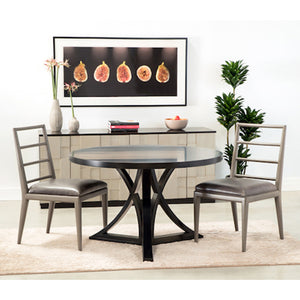 Floyd Round Dining Table - Black (23 Finish Options )