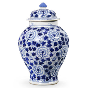 Bungalow 5 Porcelain Chinoiserie Flowered Jar with Lid