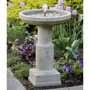 Classic Stone Fountain - Grey Stone Patina