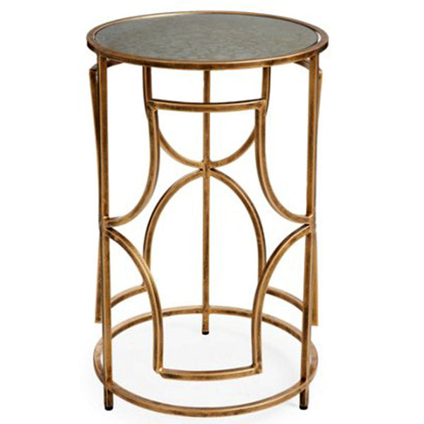 Furniture - Arches Side Table – Antique Gold
