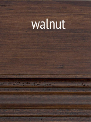 Furniture - Bennett Three Drawer Entertainment Media Console - Walnut ( 28 Finish & 3 Hardware Options )