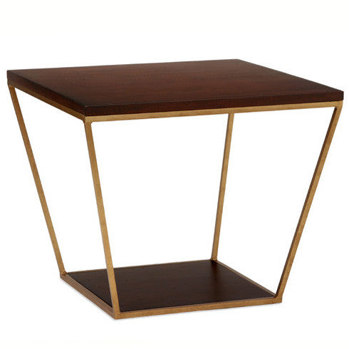Furniture - Blair Square Side Table - Chestnut (See More Finish Options)