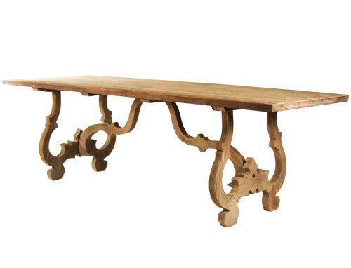 Furniture - European Vintage Wood Dining Table
