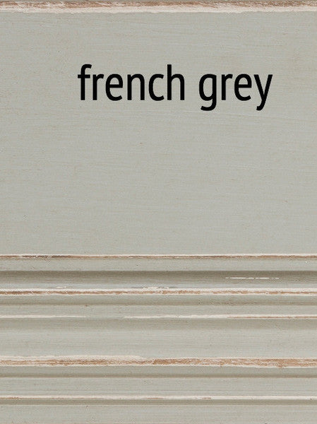 Furniture - Fiona Three Drawer Low Boy Dresser - French Grey ( 28 Finish & 3 Hardware Options )