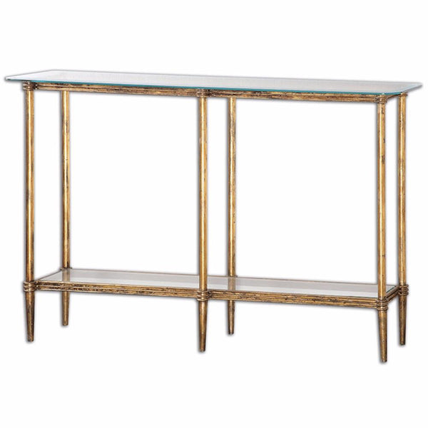 Furniture - Gold Leaf Console Table