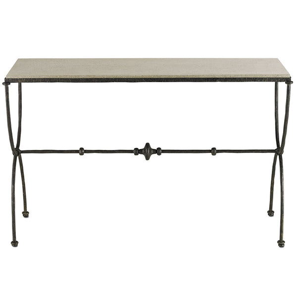 Furniture - Industrial Arch Leg Console