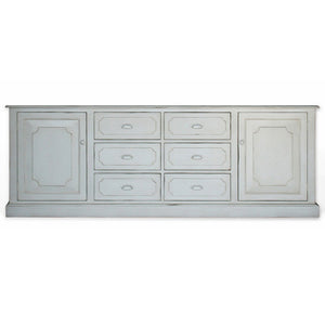 Furniture - Lawson Buffet And Sideboard Cabinet - French Grey With Painted Hardware ( 28 Finish & 2 Hardware Options )