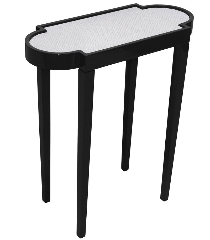 Furniture - Mini Rectangular Lacquer Side Table - Black (16 Colors Available)