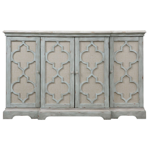 Furniture - Moroccan Four-Door Buffet Cabinet