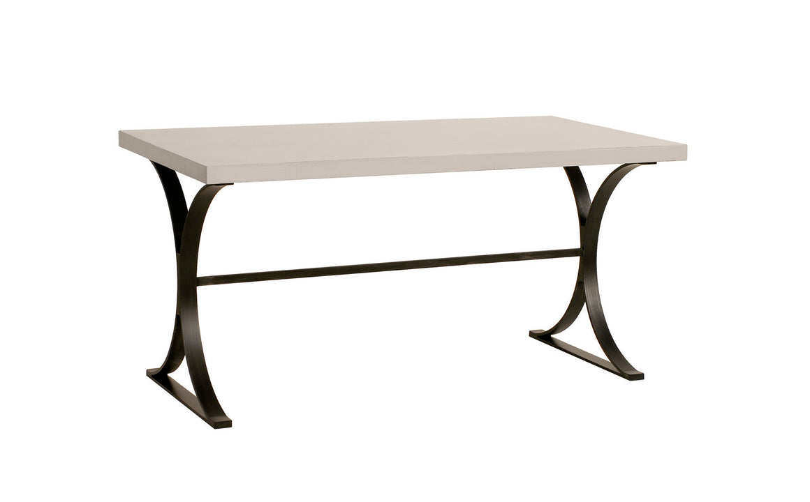 Furniture - Quincy Desk - Cashew & Black (28 Finish & 3 Base Options)