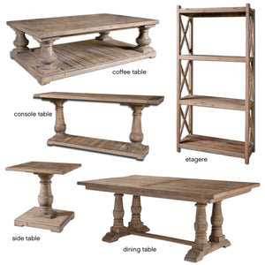 Furniture - Reclaimed Wood Etagere Shelf