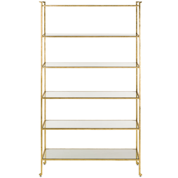 Furniture - Regency Etagere — Gold Leaf