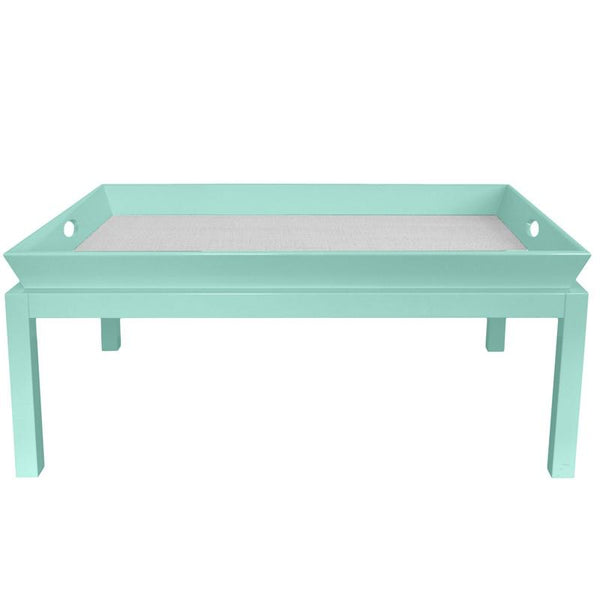 Furniture - Rowayton Lacquer Coffee Table - Ocean Blue (16 Colors Available)