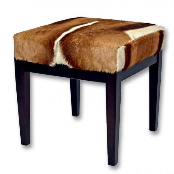 Furniture - Springbok Hide & Wood Bench - Small