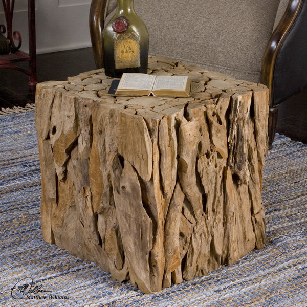 Furniture - Teak Root Cube