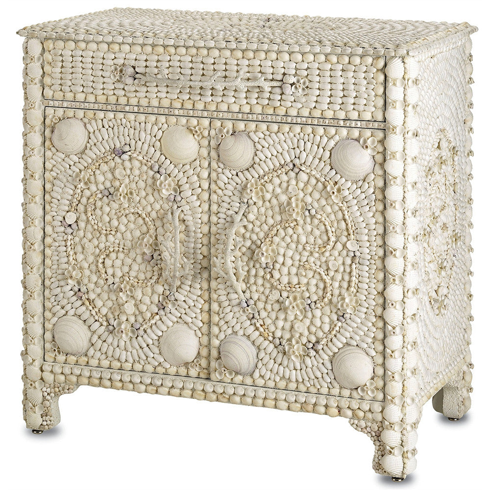 Furniture   Two Door Seashell Collage Chest