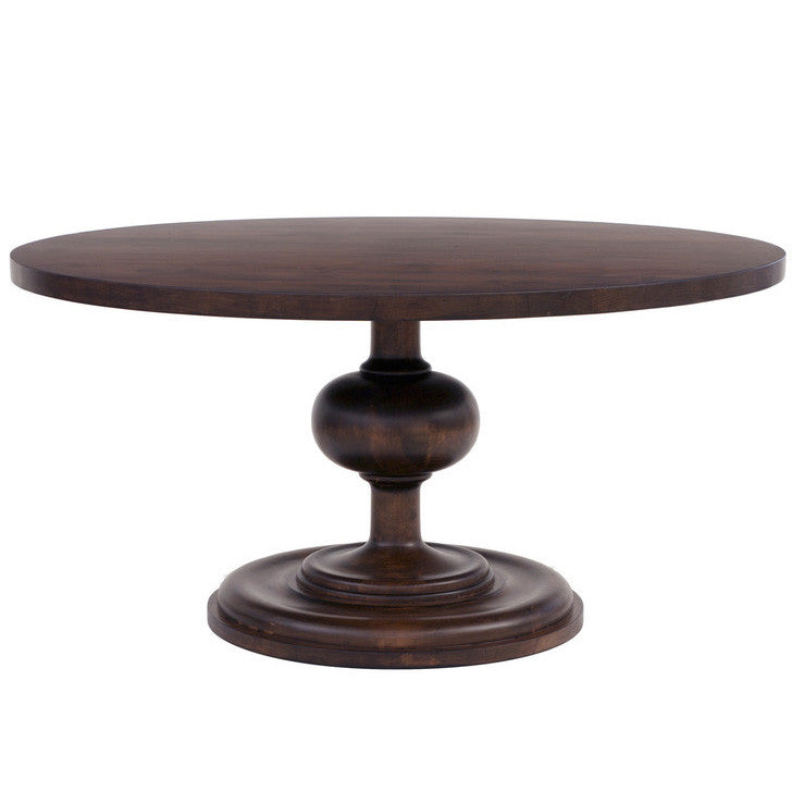 Wallace Round Dining Table Walnut 21 Finish Options