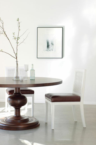 Furniture - Wallace Round Dining Table - Walnut ( 28 Finish Options )