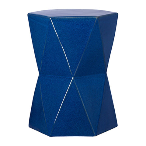 Garden Stools - Matrix Garden Stool - Blue