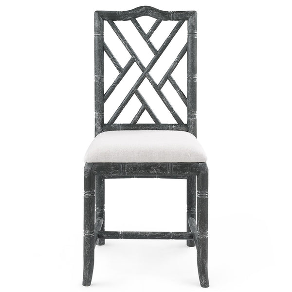 Bungalow 5 Chinoiserie Oak Side Chair — Grey