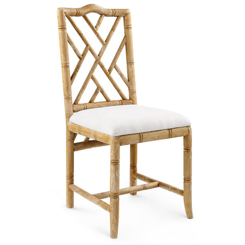 Bungalow 5 Chinoiserie Oak Side Chair — Natural