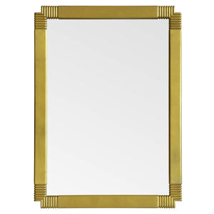 Elegant Notched Corner Mirror - Available in 2 Finishes