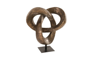 Trifoil Sculpture, Bronze