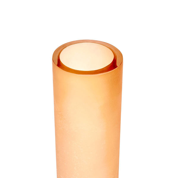 Bungalow 5 Large Colored Glass Cylinder Vase – Amber