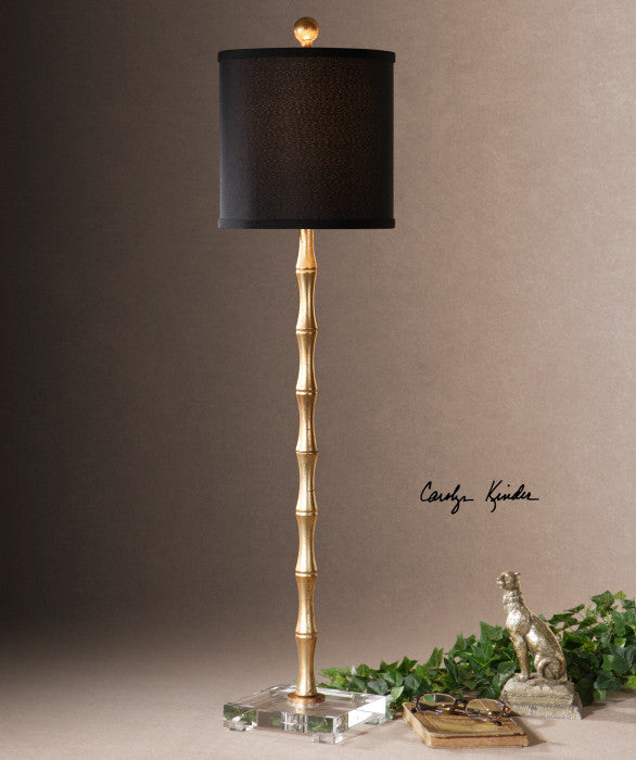 Bamboo table lamp antique gold scenario home lighting bamboo table lamp antique gold aloadofball Images