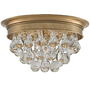 Lighting - Bauble Flush Mount Light – Brass