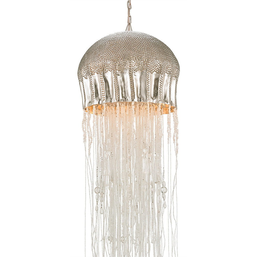 Lighting - Beaded Sea Urchin Pendant Light - Large  sc 1 st  Scenario Home & Currey and Company Beaded Sea Urchin Pendant Light - Large ... azcodes.com