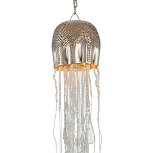Lighting - Beaded Urchin Pendant Light — Small