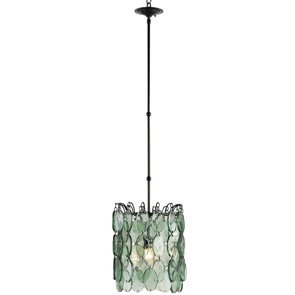 Lighting - Cascading Recycled Glass Pendant Light