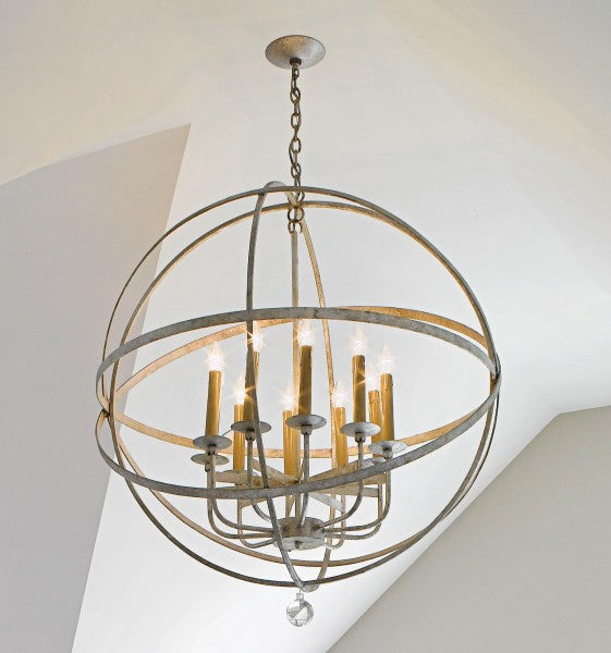 Large LeMonde Sphere Chandelier