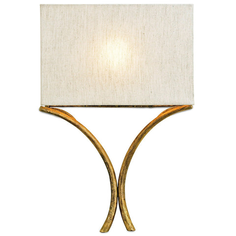 Lighting - Curved Bands Wall Sconce — Gold