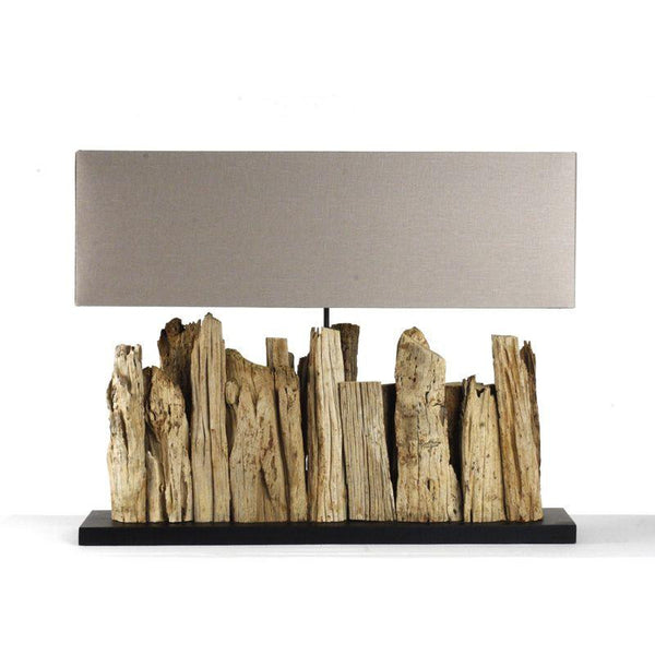 Lighting - Driftwood Table Lamp - Large
