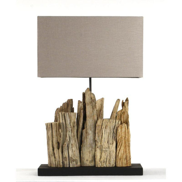 Lighting - Driftwood Table Lamp - Small
