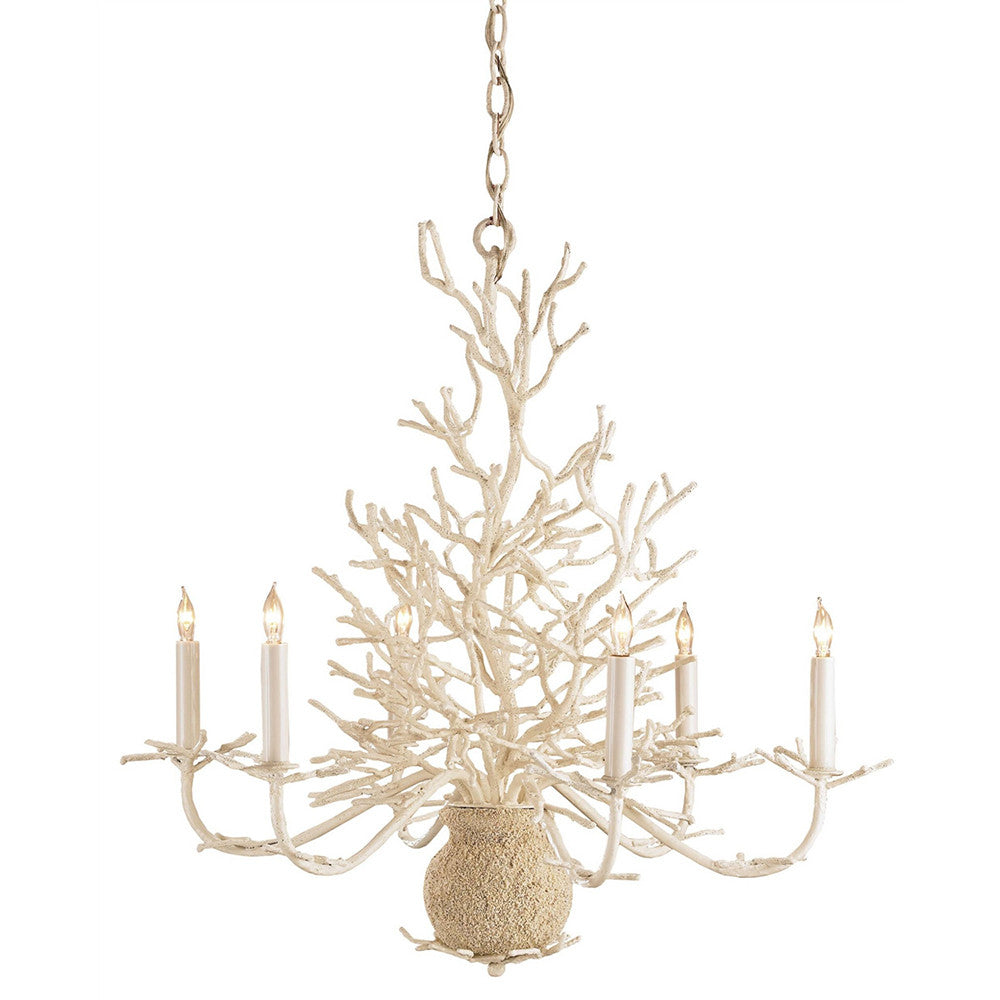 Lighting - Faux Coral Chandelier
