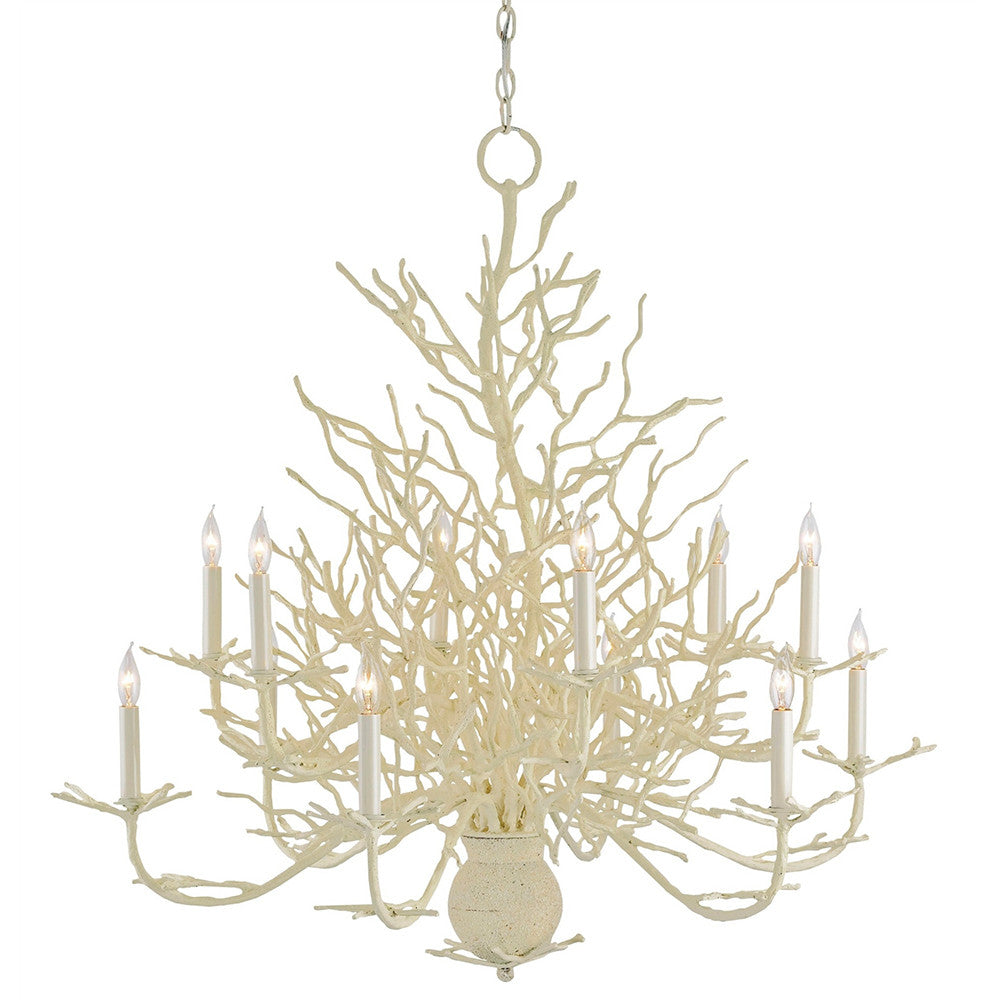 Faux Coral Chandelier Large – Coral Chandelier