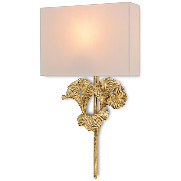 Lighting - Ginko Leaves Wall Sconce — Gold