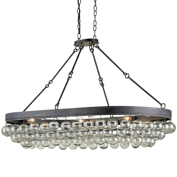 Lighting - Glass Bubbles Oval Chandelier
