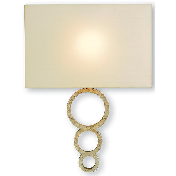 Lighting - Linked Rings Wall Sconce — Silver