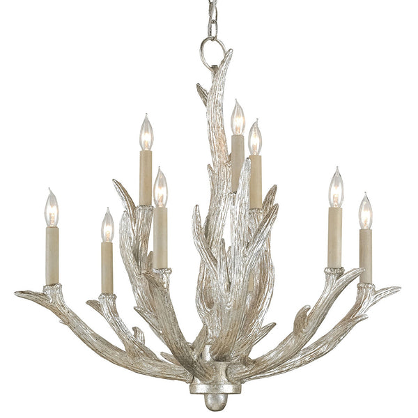 Lighting - Luxe Antler Chandelier — Silver Granello