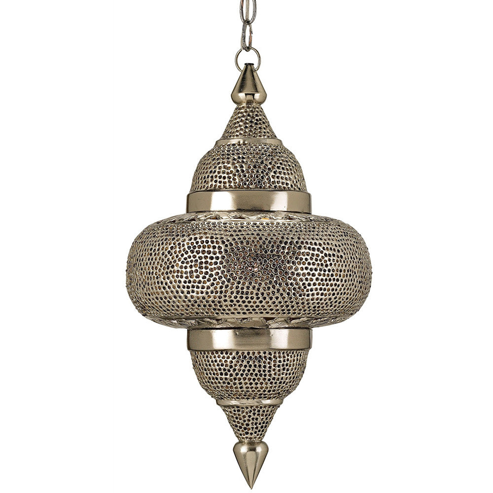 cheap for discount 114a2 e35bf Currey and Company Moroccan Pierced Metal Pendant Light