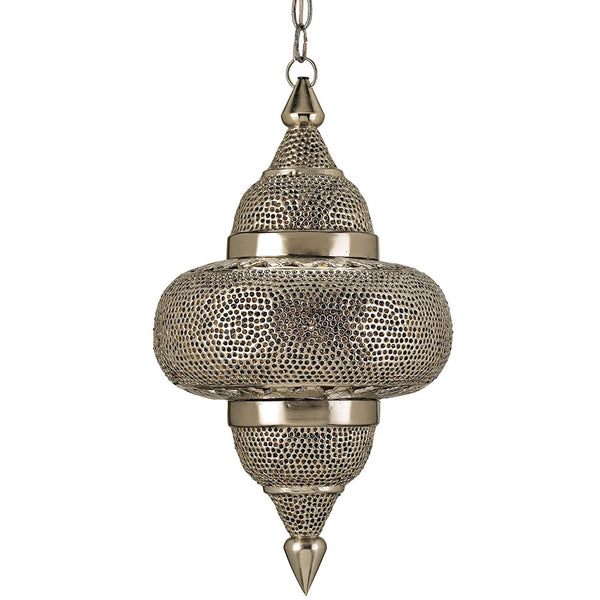 Lighting - Moroccan Pierced Metal Pendant Light