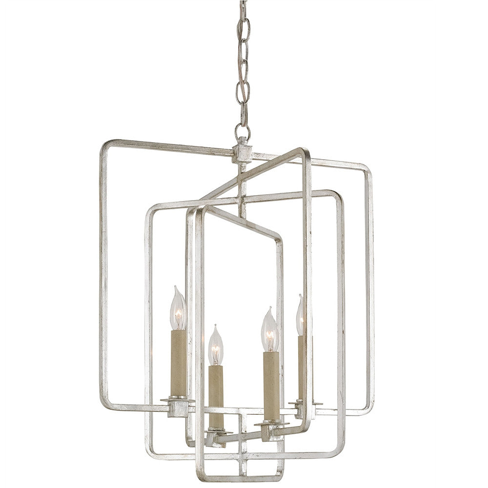 Lighting - Overlapping Squares Geometric Chandelier