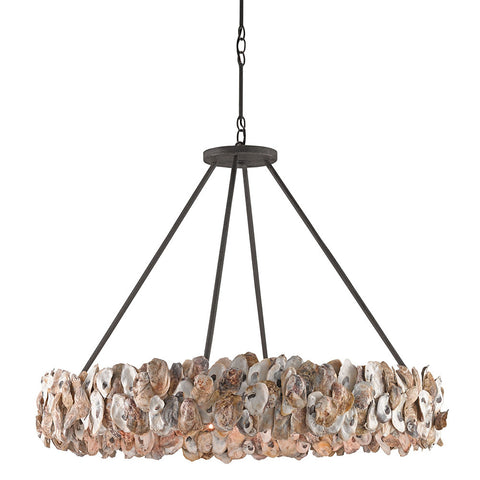 Lighting - Oyster Shell Chandelier