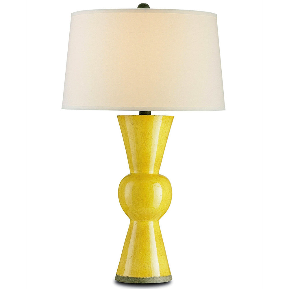 Lighting - Upbeat Table Lamp – Yellow