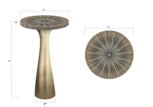 Ellis Table (Brass)